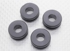 Hobbyking X650F Quadcopter Camera Mount Bracket Rubbers (4 stuks)