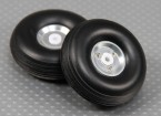 50mm (2 inch) lichtmetalen Schaal Wheel Assembly (2pc)