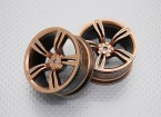 01:10 Scale High Quality Touring / Drift Wheels RC Car 12mm Hex (2pc) CR-M5G
