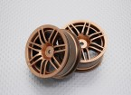 01:10 Scale High Quality Touring / Drift Wheels RC Car 12mm Hex (2pc) CR-RS4G