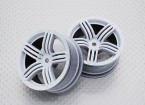01:10 Scale High Quality Touring / Drift Wheels RC Car 12mm Hex (2pc) CR-RS6W