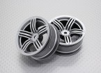 01:10 Scale High Quality Touring / Drift Wheels RC Car 12mm Hex (2pc) CR-RS6S