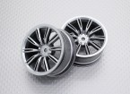 01:10 Scale High Quality Touring / Drift Wheels RC Car 12mm Hex (2pc) CR-Virages
