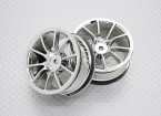 01:10 Scale High Quality Touring / Drift Wheels RC Car 12mm Hex (2pc) CR-12cc