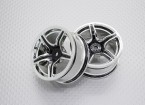 01:10 Scale High Quality Touring / Drift Wheels RC Car 12mm Hex (2pc) CR-C63B