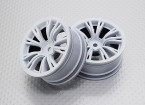 01:10 Scale High Quality Touring / Drift Wheels RC Car 12mm Hex (2pc) CR-BRW