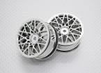 01:10 Scale High Quality Touring / Drift Wheels RC Car 12mm Hex (2pc) CR-LBC