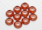 Sockethead Washer geanodiseerd aluminium M3 (Orange) (10st)
