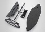 Bumper Set (F & R) - 1/10 Hobbyking Mission-D 4WD GTR Drift Car