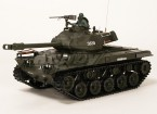 US-M41A3 Walker BullDog Light RC Tank RTR w / Airsoft & Tx