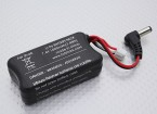 Fatshark FPV - Headset Batterij 7.4V 1000mah w / Banana Charge Lead