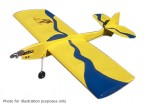 Black Hawk modellen Wizard Controle Line Balsa 610mm (Kit)