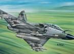 Italeri schaal 1/72 Mirage 2000 D plastic model kit