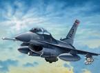 Italeri 1/72 Schaal F-16 C / D Night Falcon plastic model kit