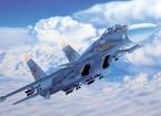 Italeri schaal 1/72 Sukhoi Su-27 Flanker plastic model kit