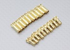 4mm RCPROPLUS Supra X Gold Bullet Connectors (10 paar)