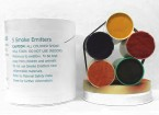 4 Minute Diverse Color Smoke Cartridges (5 stuks)