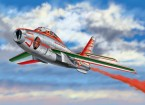 "Italeri 1/48 Schaal F-84F Thunderstreak ""Diavoli Rossi"" plastic model kit"