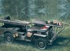 Italeri 1:35 Scale 4 x 4 Ambulance Jeep plastic model kit