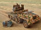 Italeri 1:35 Schaal SWS Met Flak 43 plastic model kit