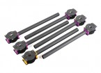 HobbyKing ™ S700 Carbon en Metal Hexacopter Carbon Boom Set (6 stuks)
