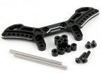 Actieve Hobby Tamiya TT-02 omkeerbare Suspension Conversion Kit - Front (Black)