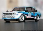 Rally Legends 1/10 Fiat Abarth 131 Rally Car Unpainted Car Body Shell w / Decals
