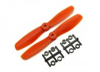 Gemfan Bull Nose BN5045 Propellers CW / CCW Set (Orange) 5 x 4.5