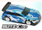 BLITZ C30 1/10 Mini of 1/12 EP High Roof Sedan Body Shell (210mm) (0.8mm)