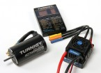 Turnigy 150A Waterproof Brushless ESC, Motor en Programming Card Combo voor 1/8