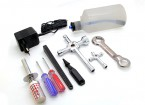 Turnigy Nitro Engine Starter Pack met Tool Set (1/10-1/8)