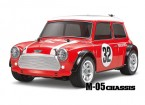 Tamiya schaal 1/10 RC Mini Cooper Racing M05 Series Kit 58438