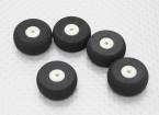 Kleine Wheel Diam: 25mm Breedte: 10mm (5 stuks / zak)