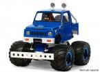 Tamiya 1/10 schaal Suzuki Jimny (SJ30) Wheelie Kit Blue Style 58.576