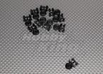 Tiny Wiel voor indoor / ultra lichte 11mm Diam (10st / bag)