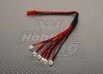 2 Pin 6 x Pico Plug Opladen Stel Eflite compatibel.