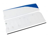 Durafly® ™  Tundra - Main Wing Set w/Control Horns (Blue/Red)