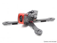 GEP-AX5 Airbus FPV Racing Drone Frame 215 (Red) (Kit)