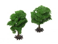 HobbyKing Model Railway Scale Trees with Base 110mm (2 pcs)