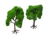 HobbyKing Model Railway Scale Trees with Roots 140mm (2 pcs)