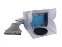 BD-512 Spray Booth With Air Duct - EU Plug