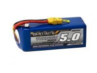 Turnigy Heavy Duty 5000mAh 6S 60C Lipo Pack w/XT-90