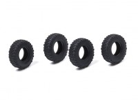 Orlandoo OH32A02 4WD 1/35 Pajero Crawler - Small Block Tires (4pcs)