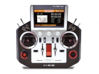 FrSky Horus X12S Accst 2.4GHz Digital Telemetry Radio System (Mode 1) (Silver) (US Charger)