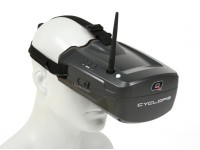 Quanum Cyclops FPV Goggle w / Geïntegreerde Monitor en ontvanger