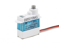 D05010MG 5,7 g / .61kg / .07sec Digital Metal Gear Micro Servo