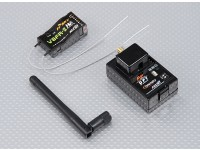 FrSky FF-1 2.4Ghz Combo Pack voor Futaba w / Module & RX