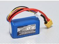 Pack Turnigy 800mAh 3S 30C Lipo