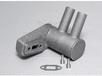 Pitts Muffler voor 15cc Gas Engine