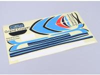 Durafly ™ 310 civiele vliegtuigen 1100mm vervangende sticker